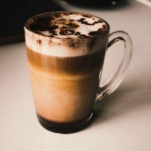 Milky Hot Chocolate - tooth friendly drinks